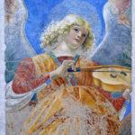 Фреска Ангел с виолой