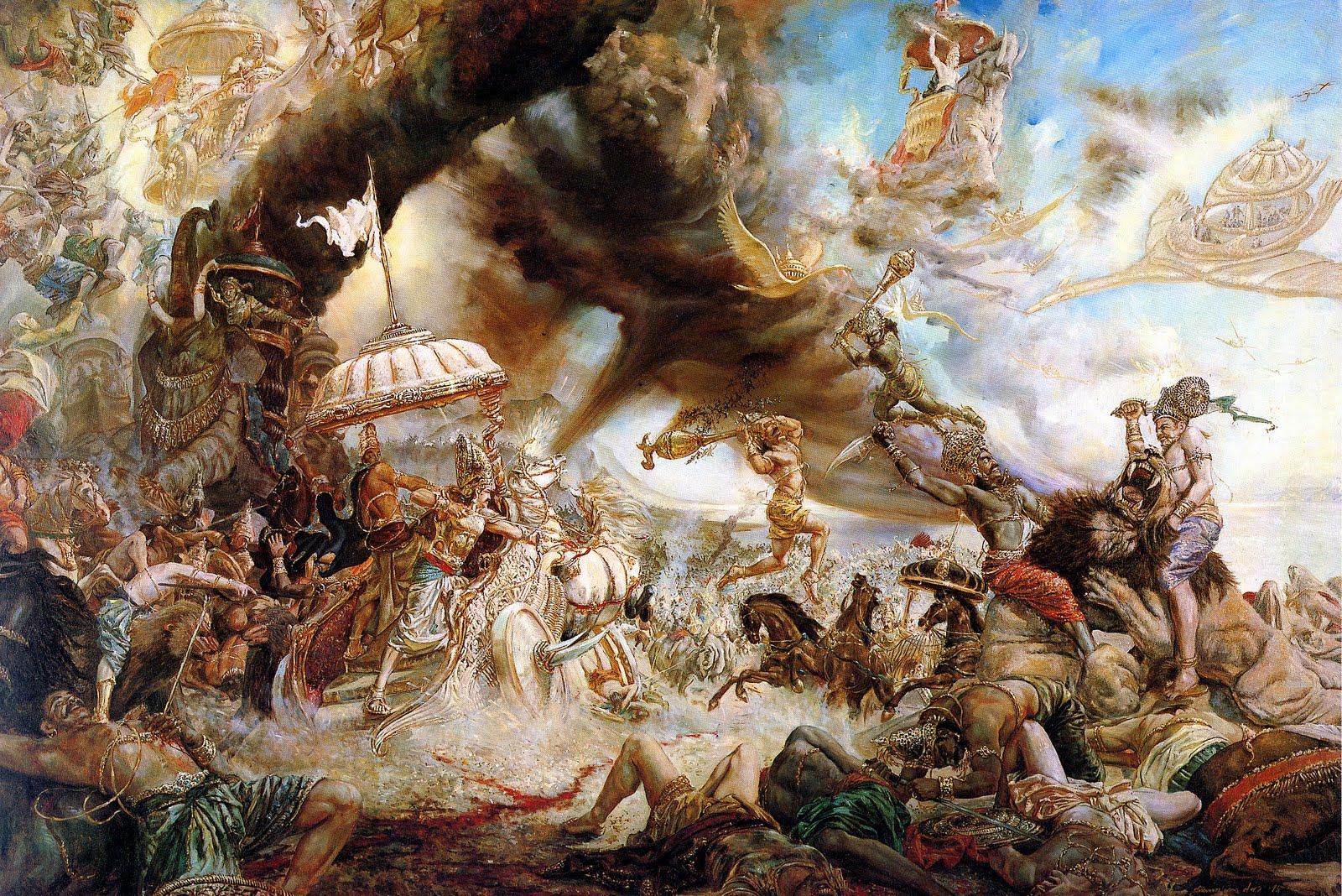 Bitva-na-Kurukshetre
